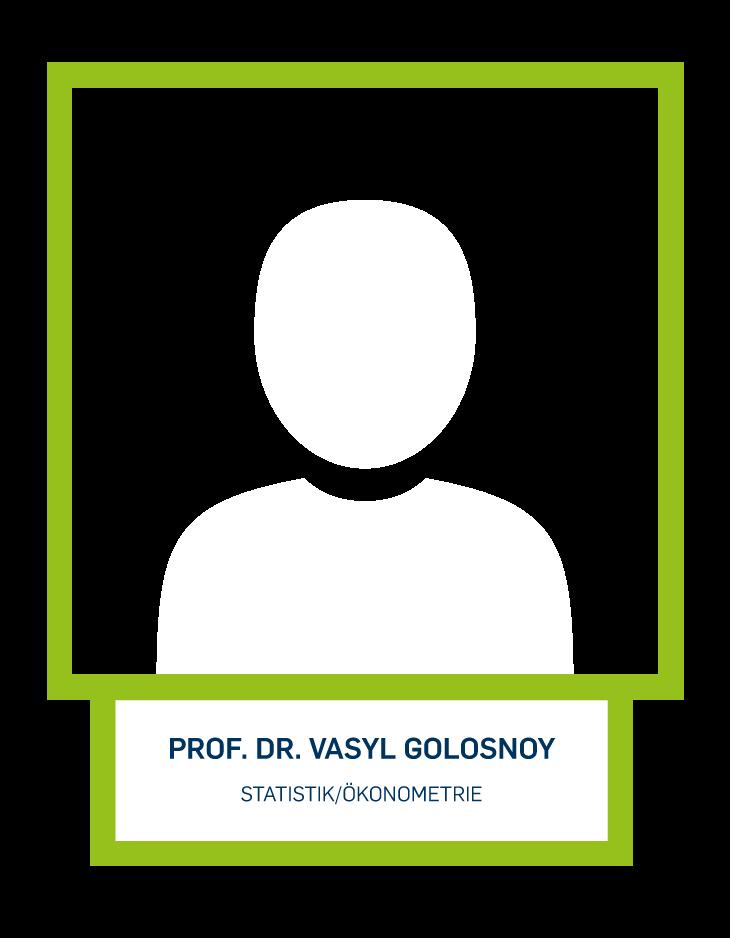 Prof. Dr. Vasyl Golosnoy - Statistik/Ökonometrie