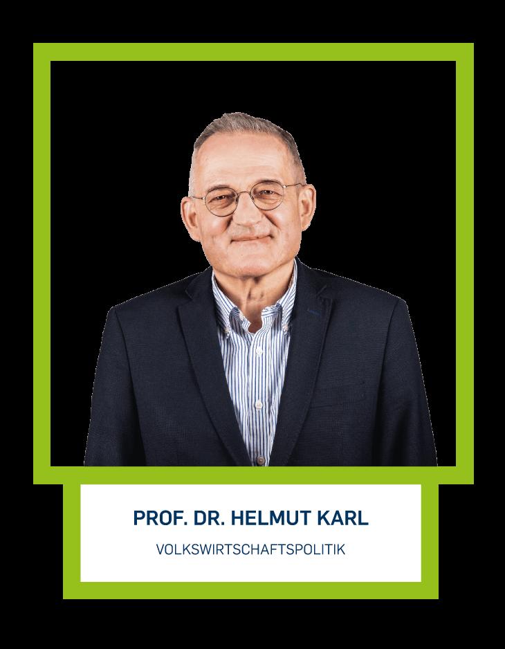Prof. Dr. Helmut Karl - Volkswirtschaftspolitik
